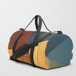 Geometric composition of an asymmetric poetry. Duffle Bag