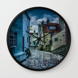 Cobbled Way Wall Clock