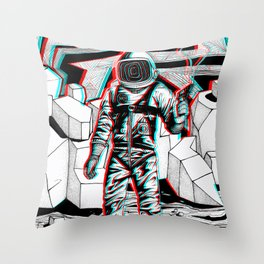 Fear What is Unknown Throw Pillow