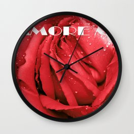 AMORE MIO Wall Clock