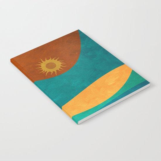 color under the sun (II) Notebook