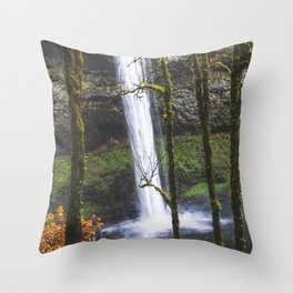 Splash of Orange Throw Pillow