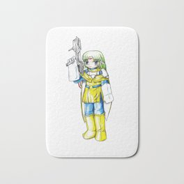 Demi the android Bath Mat