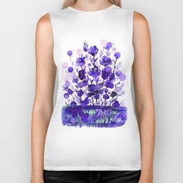 Floral Charm No.1A by Kathy Morton Stanion Biker Tank