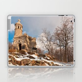 Winter Gettysburg Castle Laptop & iPad Skin