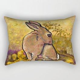 Abundance Bunny Rectangular Pillow