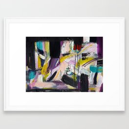 Turning a Corner Framed Art Print