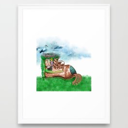 Shoe House Framed Art Print