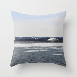 Superior Dome from Across the Harbor Throw Pillow