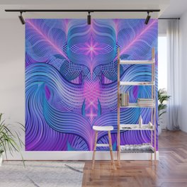 Dreaming Frequency Temple Wall Mural
