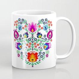 Folk Pattern - Flower Coffee Mug