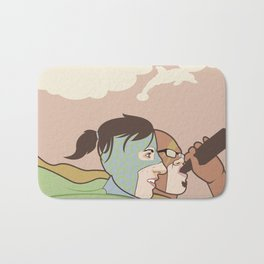 We Could Be Heroes Bath Mat