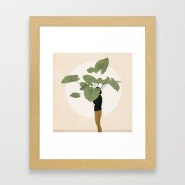 Too Litle for this Pot Framed Art Print