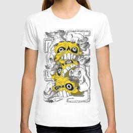 rat pile T-shirt