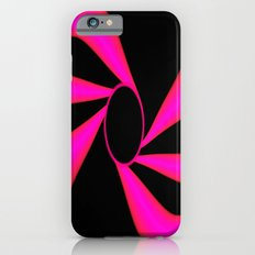 Abstract. Pink+Black Dot. Slim Case iPhone 6s