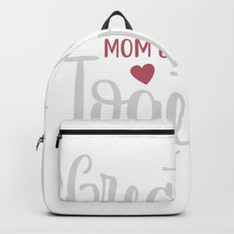 Great mom ents together mothersday Backpack