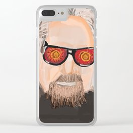 Big Lebowski - The dude Clear iPhone Case