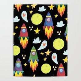 Rocket Ships Poster