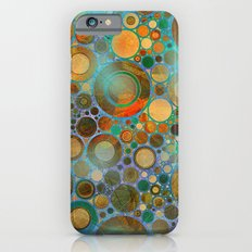 Abstract Circles Pattern Slim Case iPhone 6s
