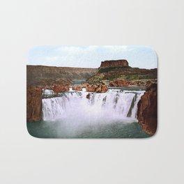 Shoshone Falls, Snake River, Idaho, 1898 Bath Mat