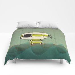 Green Pirate Comforters