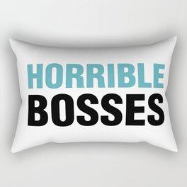 Horrible Bosses Rectangular Pillow
