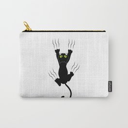 Cat grabing with claws Carry-All Pouch