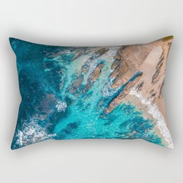 Erosion Rectangular Pillow