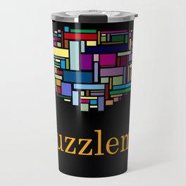 Puzzle me Travel Mug