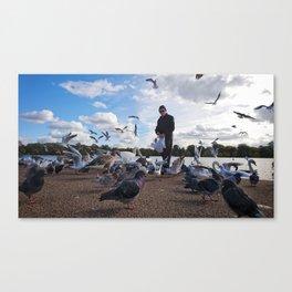 Birdman V Canvas Print