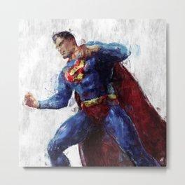 Superman Metal Print