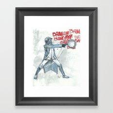 BamBamBam Framed Art Print