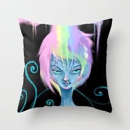 Insanity Spectrum Throw Pillow