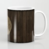 skyrim Mugs featuring Shield's of Skyrim - Whiterun by VineDesign