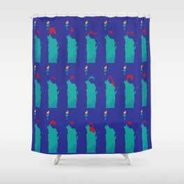 Nation of Immigrants Shower Curtain