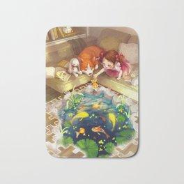 Puzzles of Imagination: Koi Pond Bath Mat