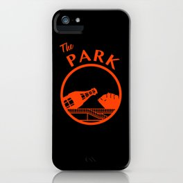 The Park (Orange) iPhone Case