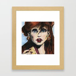 ORIGINAL GINA Framed Art Print