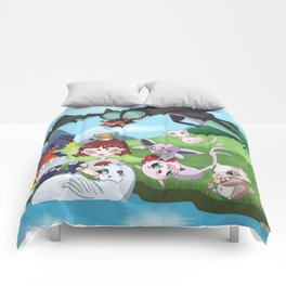 pokefriend Comforters