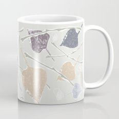 fifties Gray leaves Mug