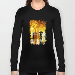 Somebody Looking The Tardis Long Sleeve T-shirt