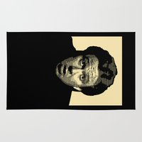 kill bill Area & Throw Rugs featuring Bill Hicks by D-fens