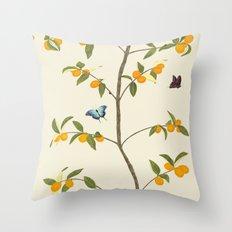 Jenny Chinoiserie Kumquat Throw Pillow