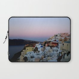 Dawn of Santorini Greece Laptop Sleeve