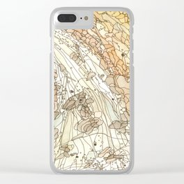 Eno River #2 Clear iPhone Case