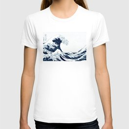 The Great Wave - Halftone T-shirt
