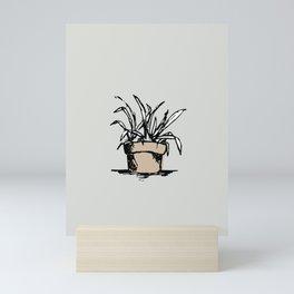 """Teacher's Plant"" from Grow Collection Mini Art Print"