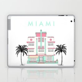Miami Art Deco Vibes Laptop & iPad Skin