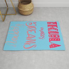 Tequila Makes Dreams Happen -Sunset Rug