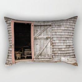 Ross Farm door Rectangular Pillow